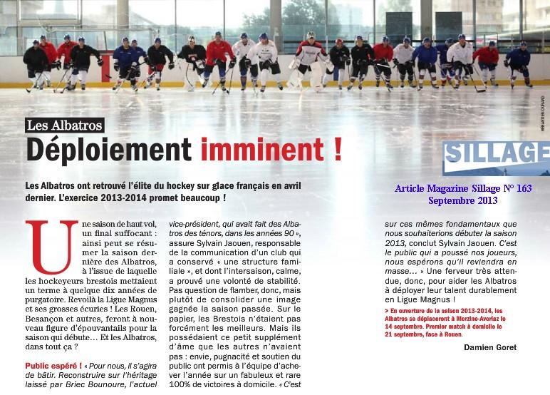 Articles Sur Les Albatros 2013 - 2014 Articl31