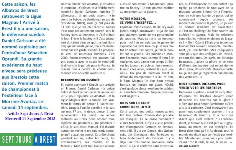 Articles Sur Les Albatros 2013 - 2014 Articl34