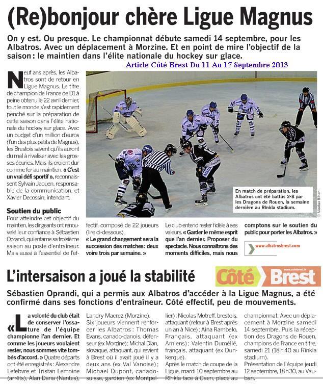 Articles Sur Les Albatros 2013 - 2014 Articl35