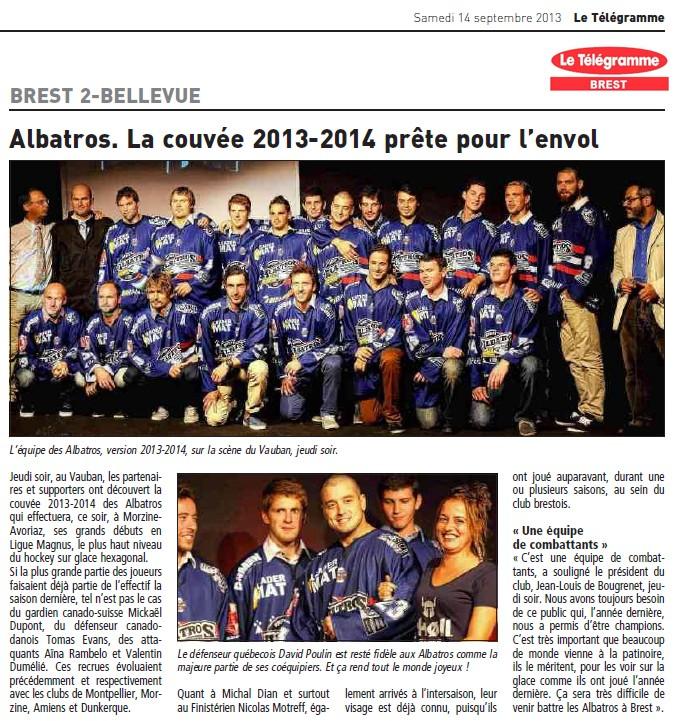 Articles Sur Les Albatros 2013 - 2014 Articl36