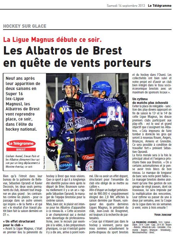 Articles Sur Les Albatros 2013 - 2014 Articl38