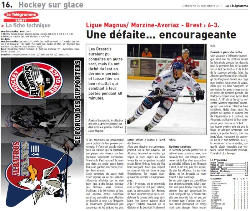 Articles Sur Les Albatros 2013 - 2014 Articl40
