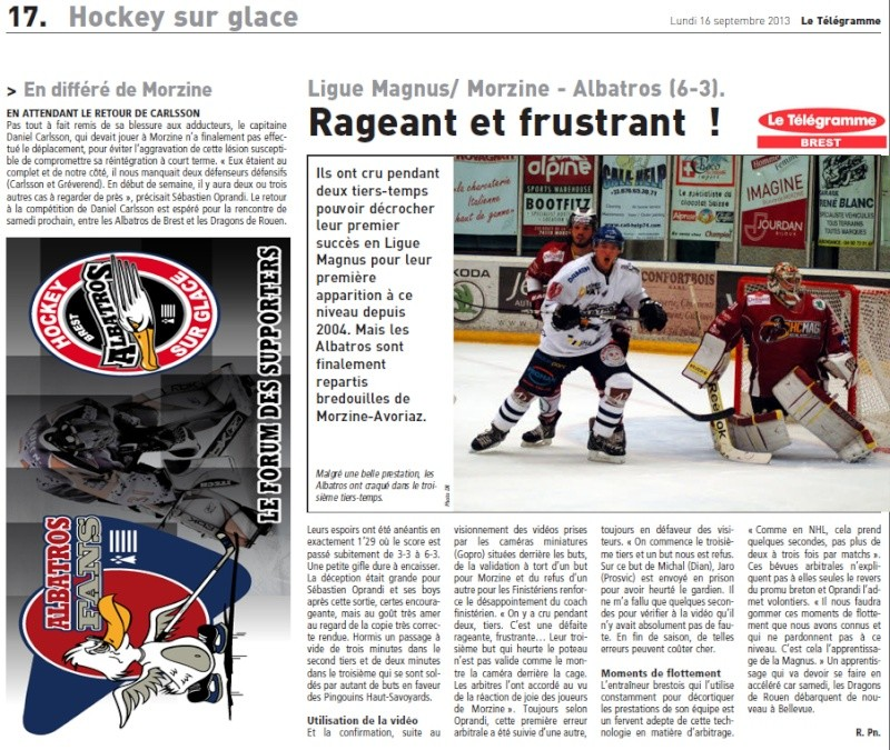 Articles Sur Les Albatros 2013 - 2014 Articl41