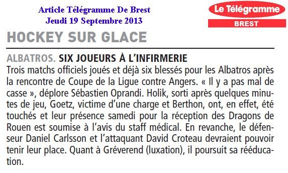 Articles Sur Les Albatros 2013 - 2014 Articl45
