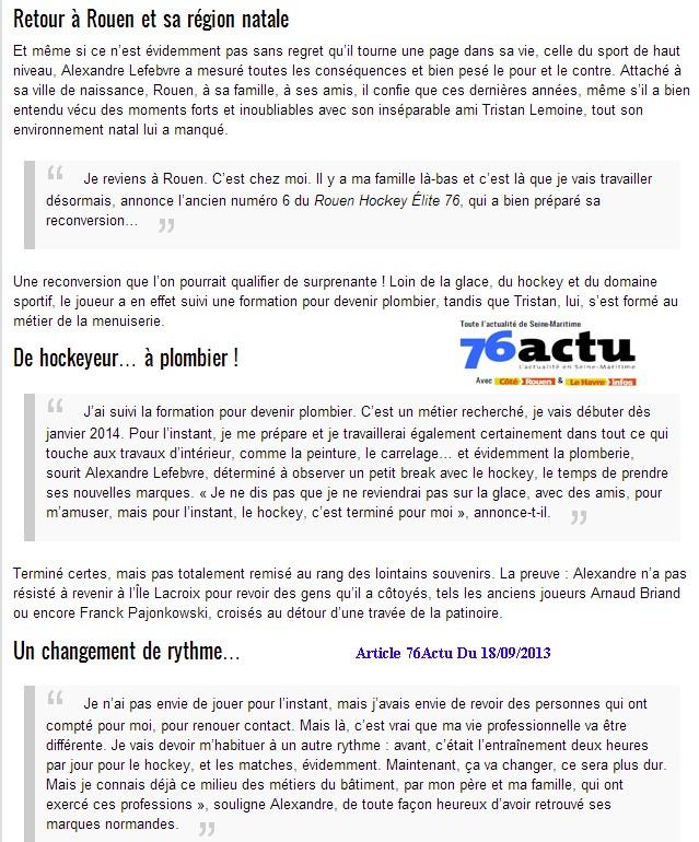 Articles Sur Les Albatros 2013 - 2014 Articl48