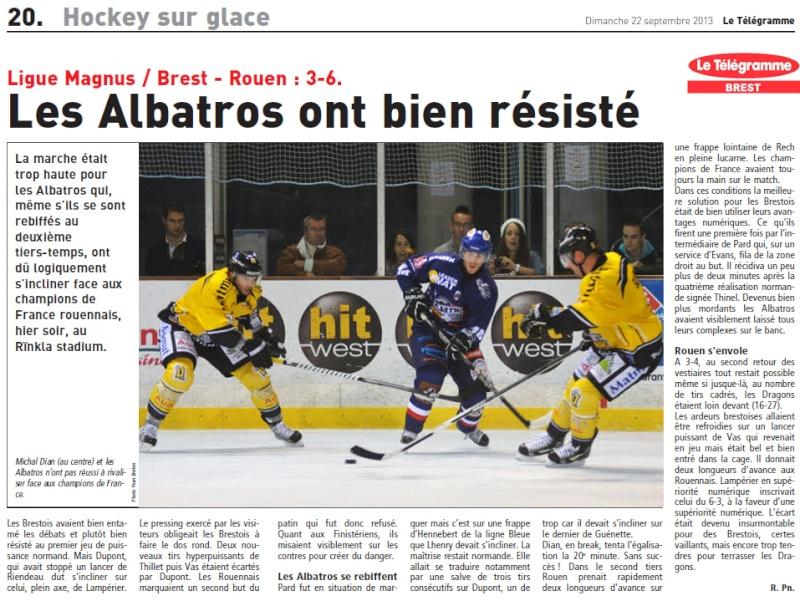 Articles Sur Les Albatros 2013 - 2014 Articl51