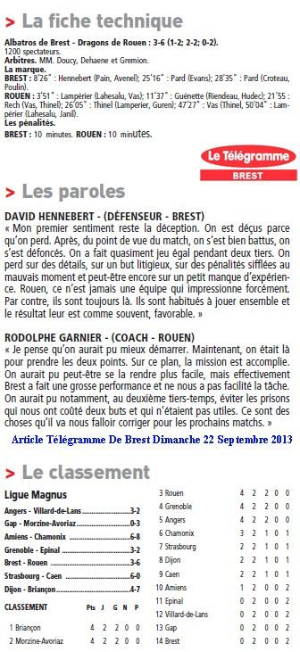 Articles Sur Les Albatros 2013 - 2014 Articl52