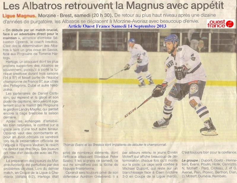 Articles Sur Les Albatros 2013 - 2014 Articl63