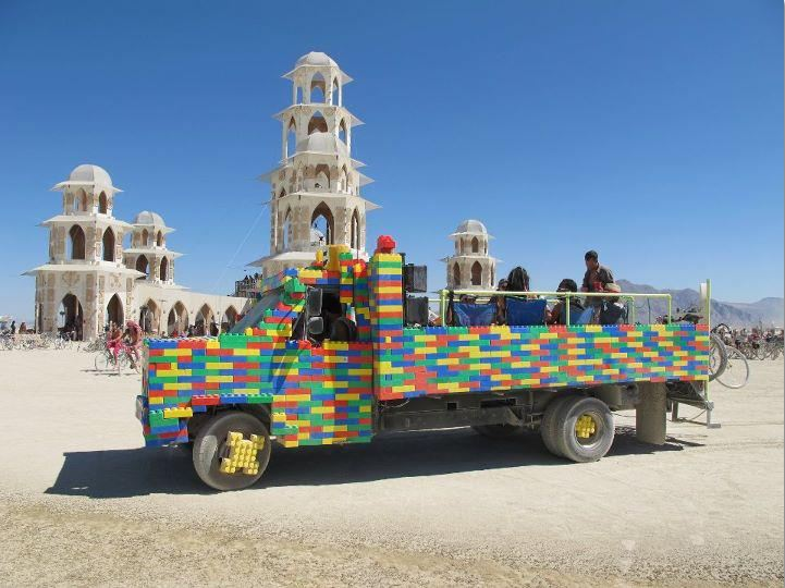 The Burning Man festival Lego_t10
