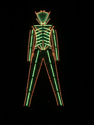 The Burning Man festival Neonma10
