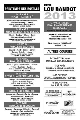 1ère journée du Printemps des Royales à St Laurent avec la Manade Cuillé Ct_lou10