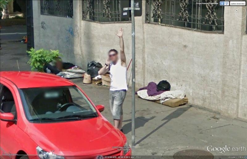 STREET VIEW : un coucou à la Google car  - Page 21 Cou110