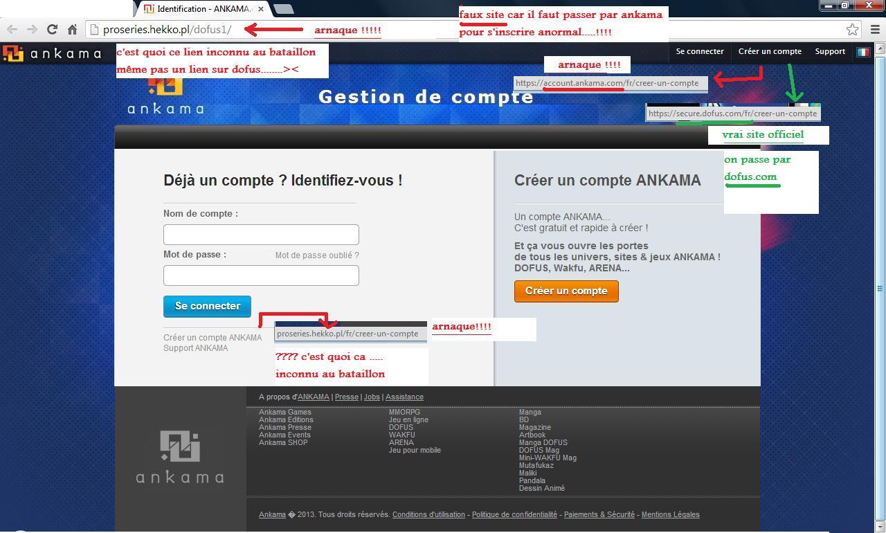 PROTEGEZ VOS COMPTES CONTRE LES HACKS Arnaqu13