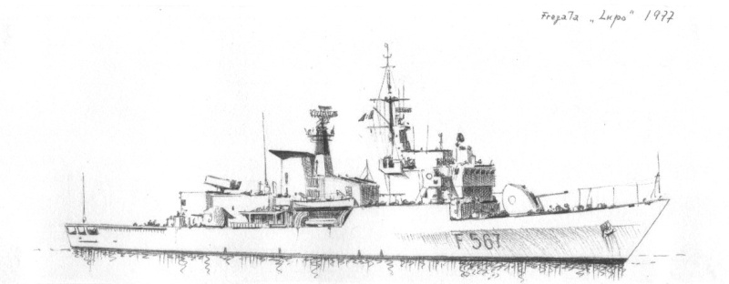 Fregata Lupo scala 1/100 1977_f10