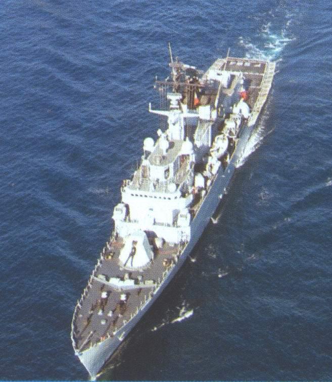 Fregata Lupo scala 1/100 Lupo310