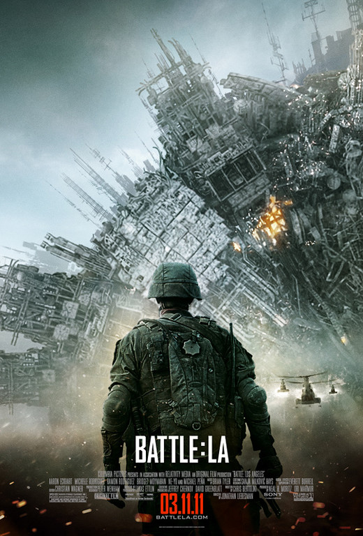 World Invasion: Battle Los Angeles Affich10