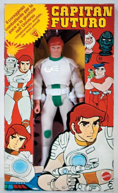 Les jouets CAPITAINE FLAM - Captain Future - Futuro  22311