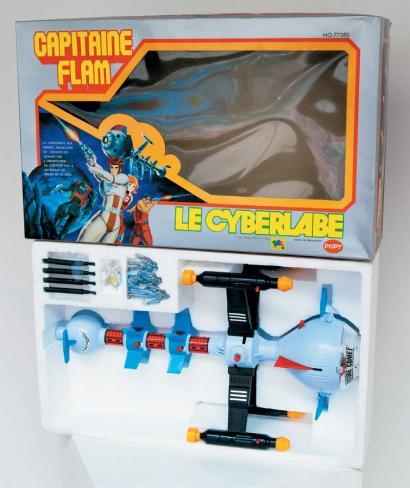 Les jouets CAPITAINE FLAM - Captain Future - Futuro  22410