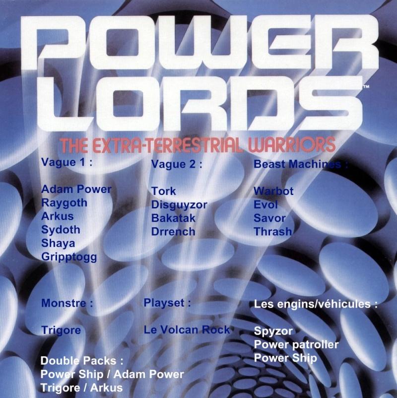 La gamme Power Lords - CEJI Powerl11
