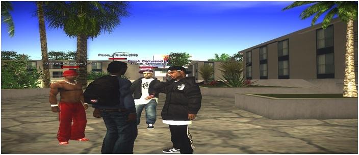 216 Black Criminals - Screenshots & Vidéos II - Page 4 Sa-mp155