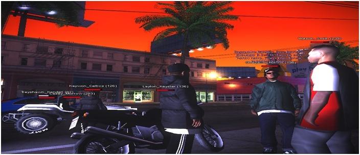 216 Black Criminals - Screenshots & Vidéos II - Page 4 Sa-mp167