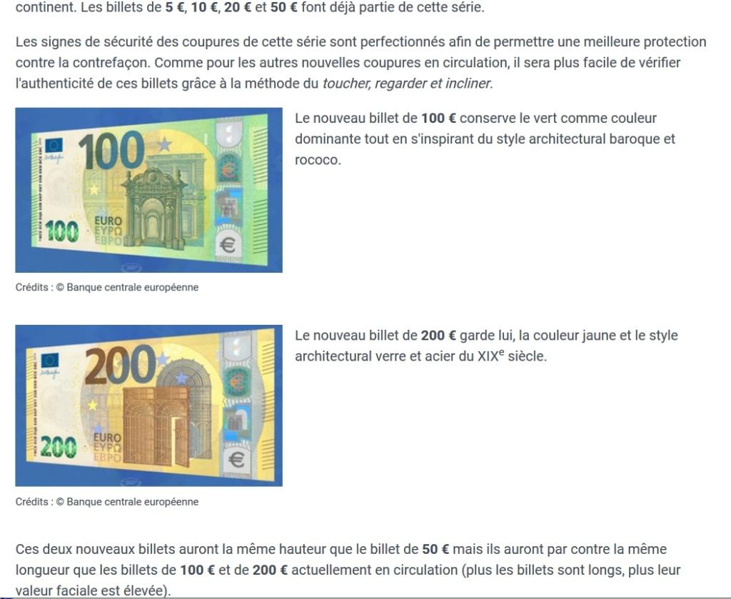 Les nouveaux billets de 100 et 200 € Billet10