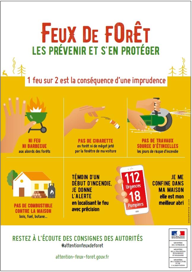 Prévention des feux de forêt. Pqr1110