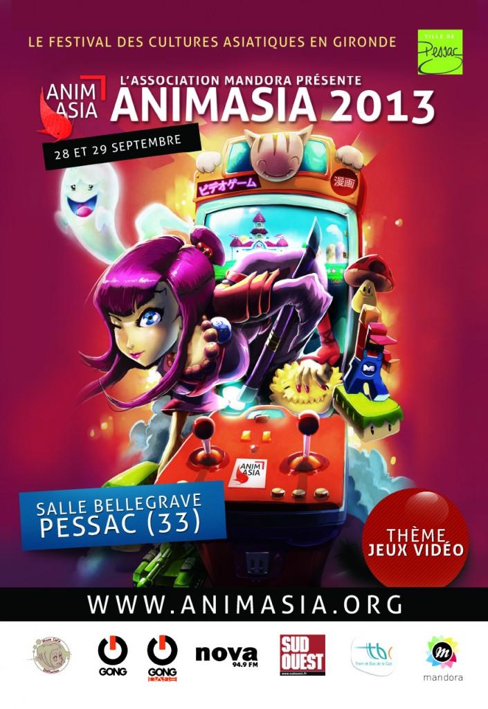 Animasia 2013 - 28 et 29 Septembre 2013 Affich10