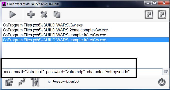 Lancer plusieurs GW en même temps Gwlaun10