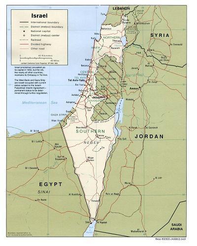 L'environnement géostratégique d'Israël est en train de changer Po-20110