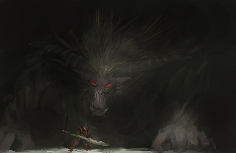 You know you have played too much MH3U when... Rajang11