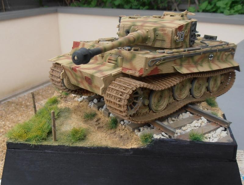 Tiger I ausf E  ( le diorama ) - Page 3 P4201713