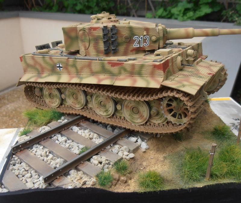 Tiger I ausf E  ( le diorama ) - Page 3 P4201714