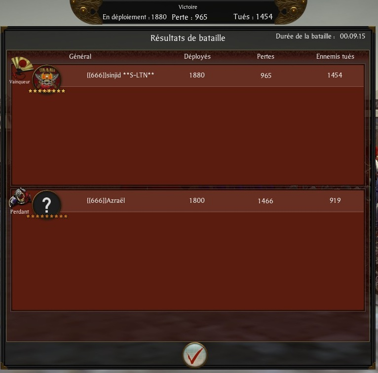 Screen du tournoi shogun 2013-014