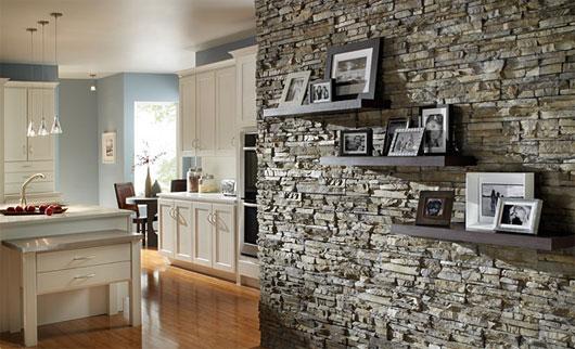 الديكورات الحجريه لجدران بيتك تعطي منظر رائع ودافئ 44905910