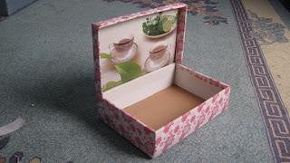 ابتكارات يدويه من علبة فناجين الشاي  Ooouoo14