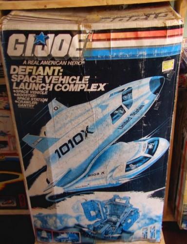 Restauration Boite Space Défiant Vehicule Launch Complex Defo110