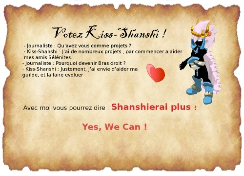 Kiss-Shanshi - Yes, We Can ! Pubiop15