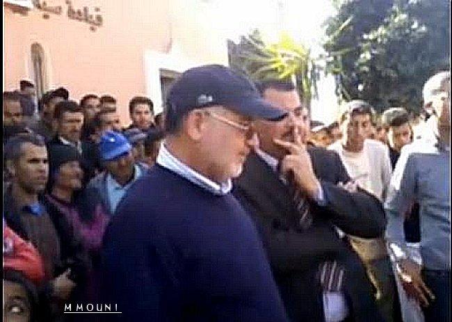 Bazi Mohamed president commune Sidi Bibi Sidibi11
