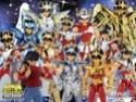 Wallpapers Saint Seiya - Giga Hobby 1600x114