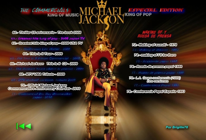 [DL] Michael Jackson The Commercials Edition Special (By Brigitte) Commer14