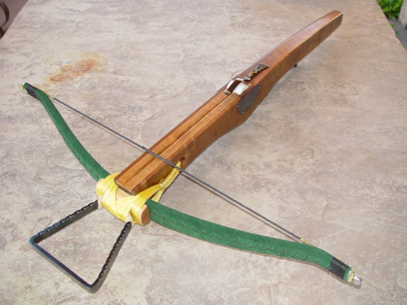 Here are a few of my 'period' type crossbows Finish10