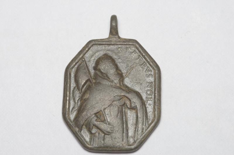 Médaille St-Pierre-Nolasque & ND-de-la-Merced - XVIIème Imgp7110