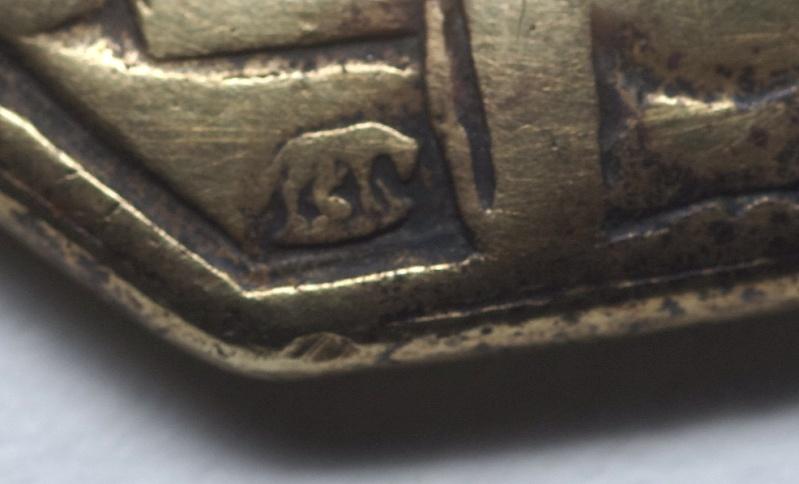 Superbe médaille St-Augustin - Atelier italien Hamerani - fin XVII/début XVIIIème St_aug12