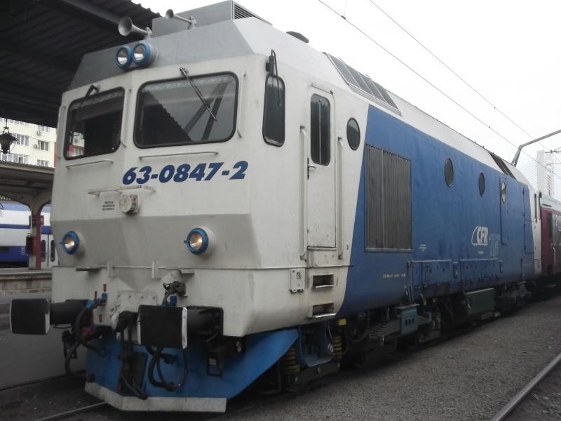 Locomotive diesel 63-08410