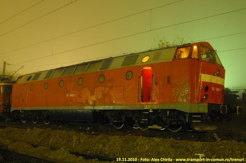Locomotive diesel 83-09010