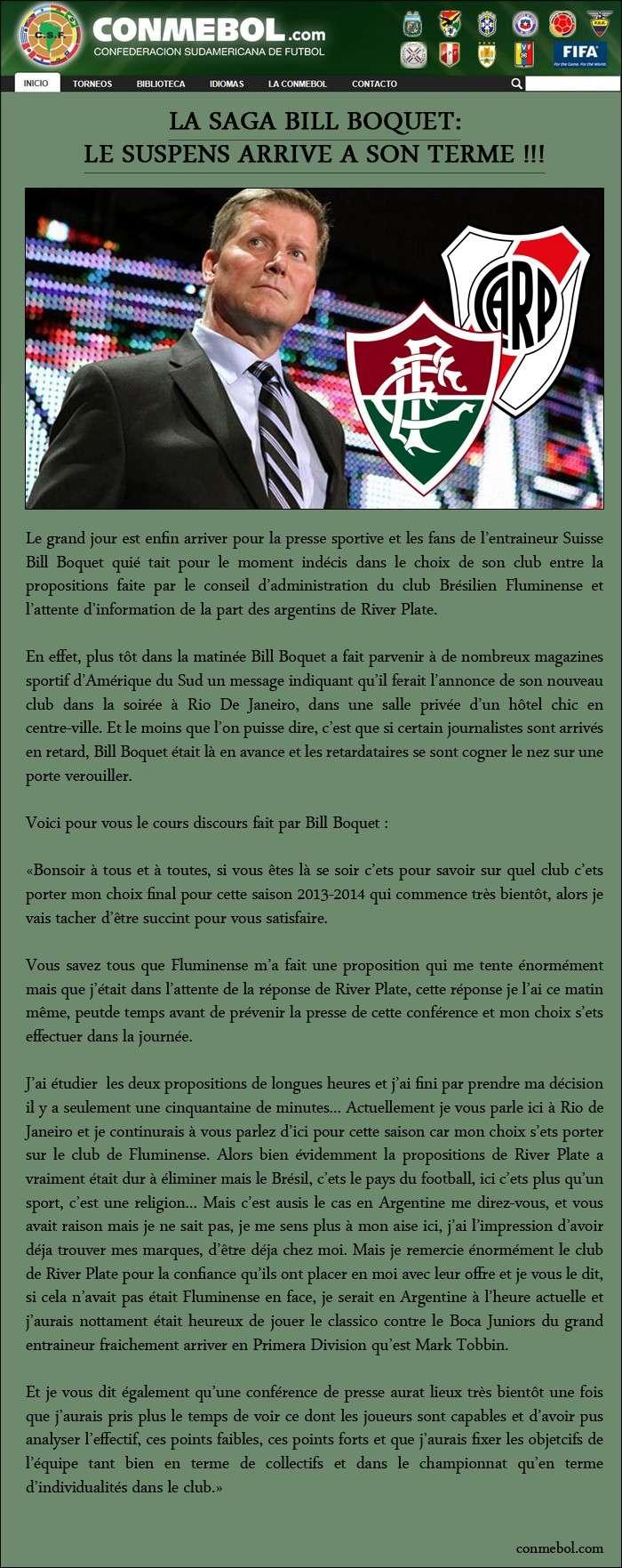 [FIFA 14] [Carrière Matix] Fluminense (Un Suisse au Brasileiro) G10