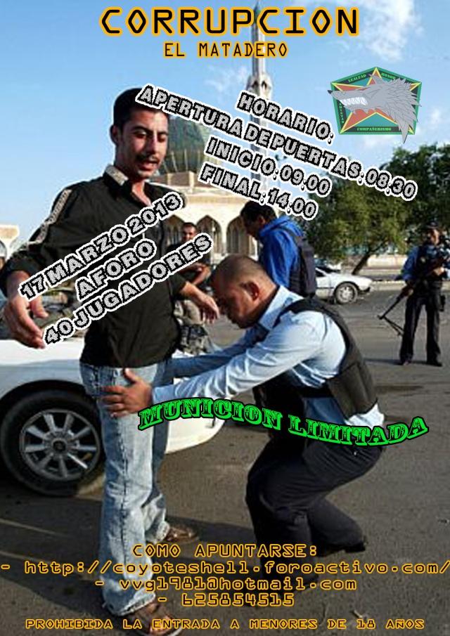 Corrupcion, partida abierta 17.03.13 El Matadero Corrup10