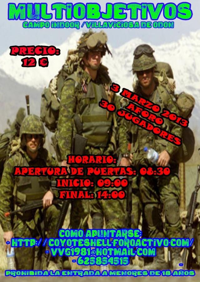 Multiobjetivos, partida abierta 3.03.13 campo Indoor (Villaviciosa de Odon) Multio10