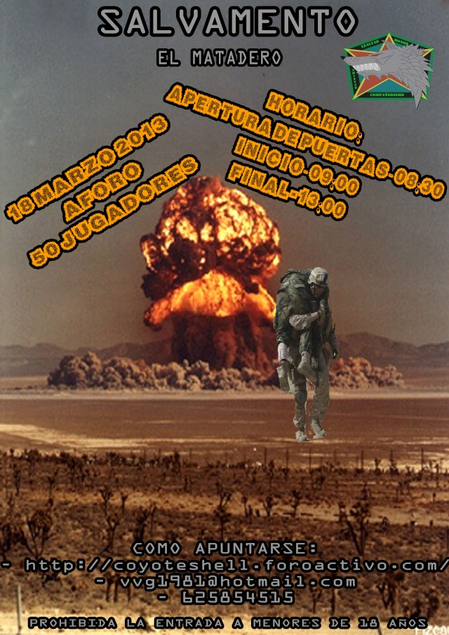 Salvamento, partida abierta 18.03.13 (Lunes) El Matadero Salvam10